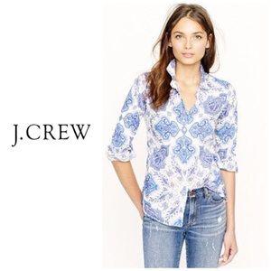 J crew Liberty perfect shirt in Paisley